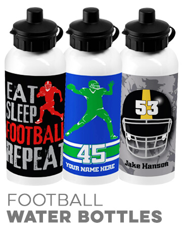 Football Water Bottles
