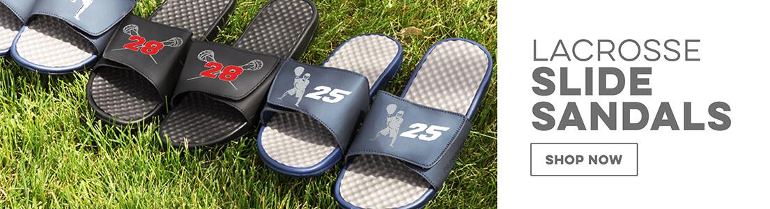 Guys Lacrosse Slide Sandals