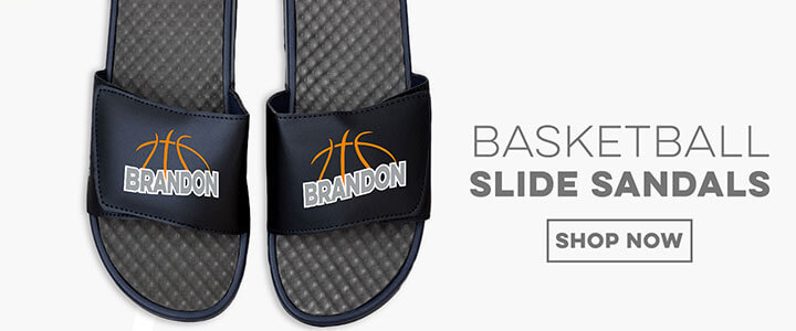Basketball Slide Sandals