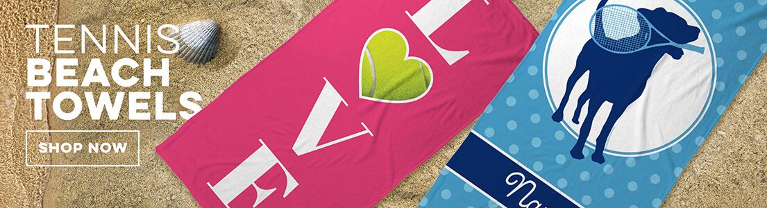 Tennis Beach Towels