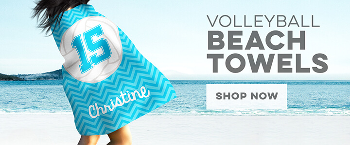 Volleyball Beach Towels