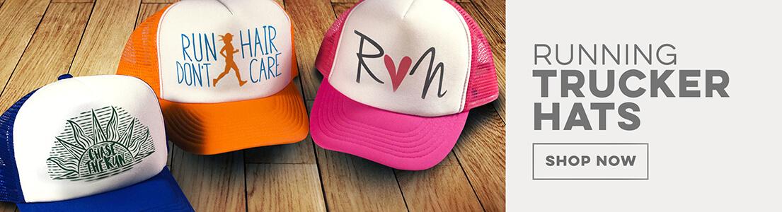 Running Trucker Hats!