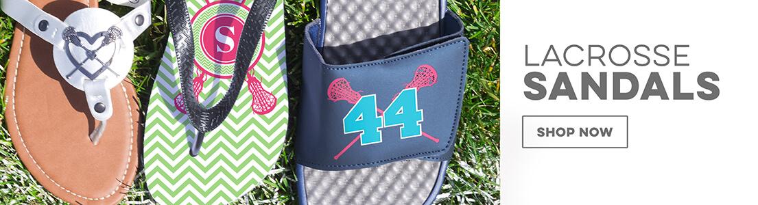 Girls Lacrosse Slide Sandals!
