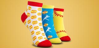 Softball Ankle Socks