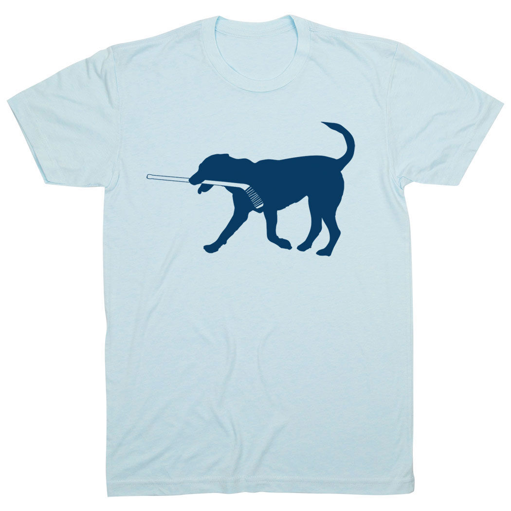 Hockey Tshirt Short Sleeve Rocky The Hockey Dog