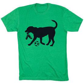 Soccer Tshirt Short Sleeve Spot The Soccer Dog