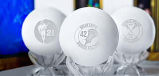 Engraved Lax Balls