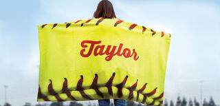 Softball Blankets