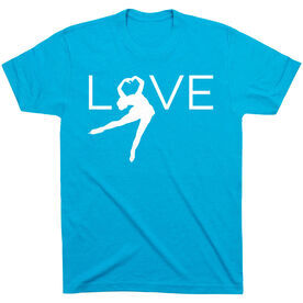Figure Skating Short Sleeve T-Shirt - Love