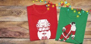 Hockey Holiday Tees