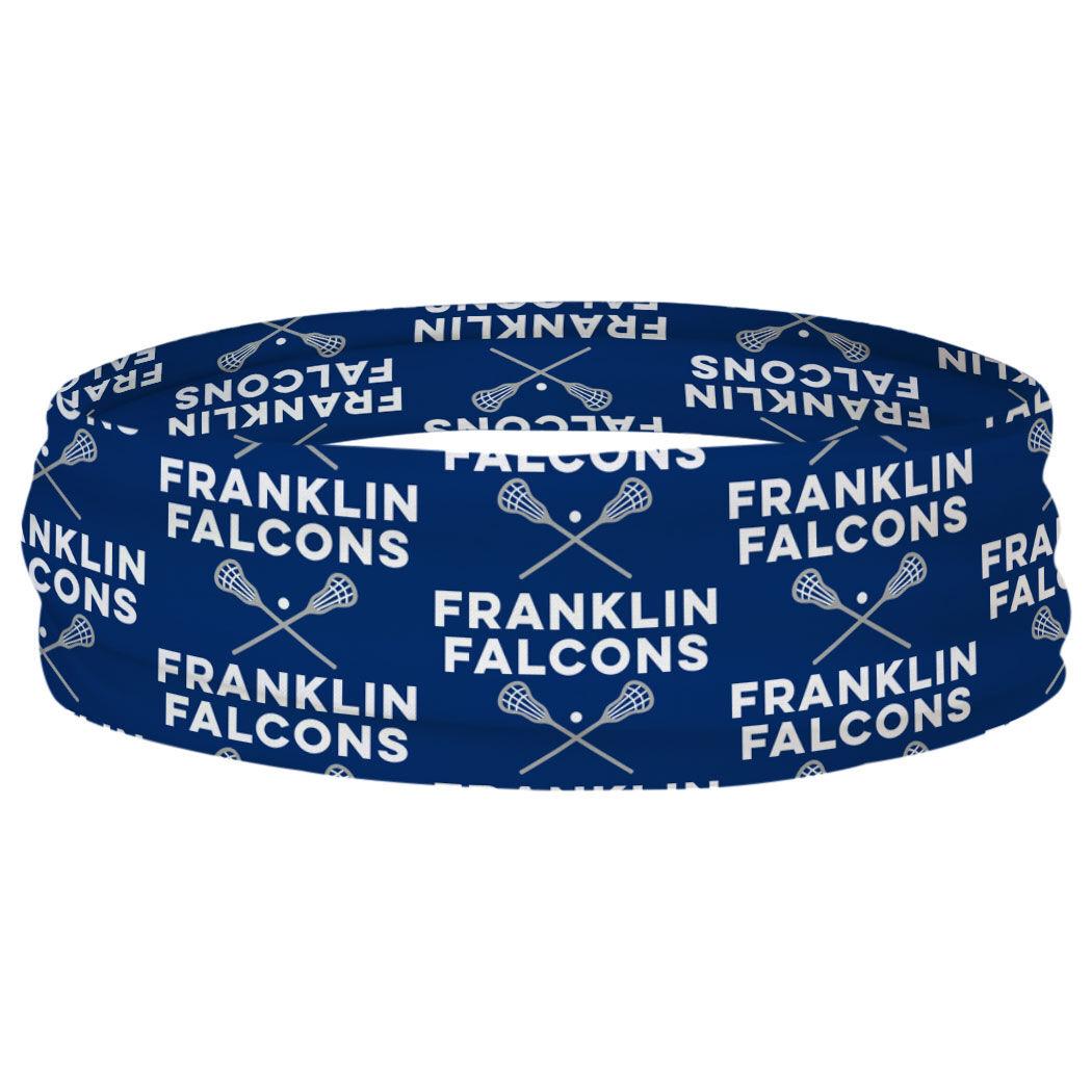 Guys Lacrosse Multifunctional Headwear - Custom Team Name Repeat RokBAND
