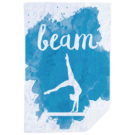 Gymnastics Premium Blanket - Beam