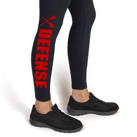 Girls Lacrosse Leggings Lacrosse Defense