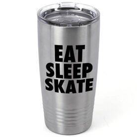 Figure Skating 20 oz. Double Insulated Tumbler - Eat Sleep Skate
