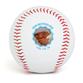 Custom Baseball Birth Announcement