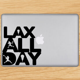 Lax All Day Removable ChalkTalkGraphix Laptop Decal
