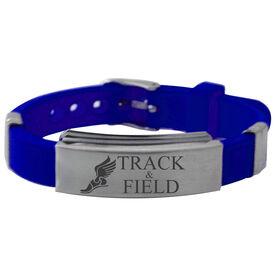 Track Winged Shoe Silicone Bracelet