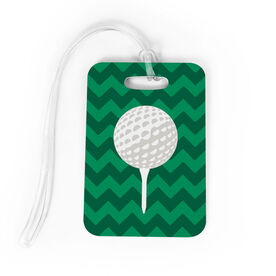 Golf Bag/Luggage Tag - Ball And Tee