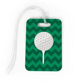 Golf Bag/Luggage Tag - Ball And Tee