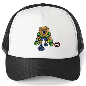 Seams Wild Football Trucker Hat - Kingsley