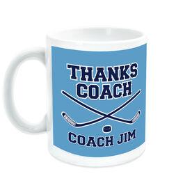 Hockey Coffee Mug Thanks Coach