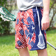USA Lacrosse Shorts