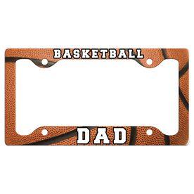 Basketball Dad License Plate Holder