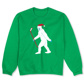 Hockey Crew Neck Sweatshirt - Abominable Snowman