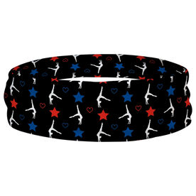 Gymnastics Multifunctional Headwear - USA Gymnast RokBAND