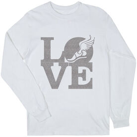 Track & Field Youth T-Shirt Long Sleeve Winged Foot Love