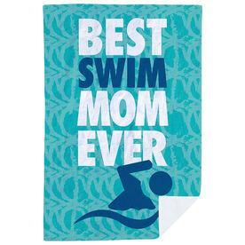 Swimming Premium Blanket - Best Mom Ever