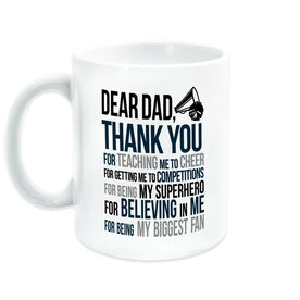 Cheerleading Coffee Mug - Dear Dad