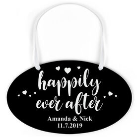 Oval Sign - Happily Ever After