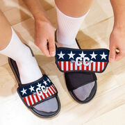 Cross Country Repwell® Sandal Straps - Stars and Stripes