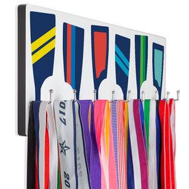 Crew Hooked on Medals Hanger - Oar Pattern