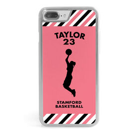 Basketball iPhone® Case - Personalized Girl Player