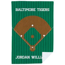 Baseball Premium Blanket - The Field