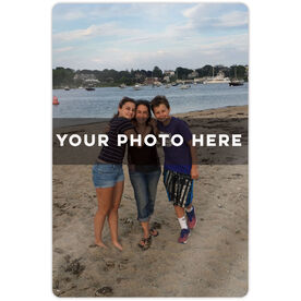 "Personalized 18"" X 12"" Aluminum Room Sign - Custom Photo Vertical"
