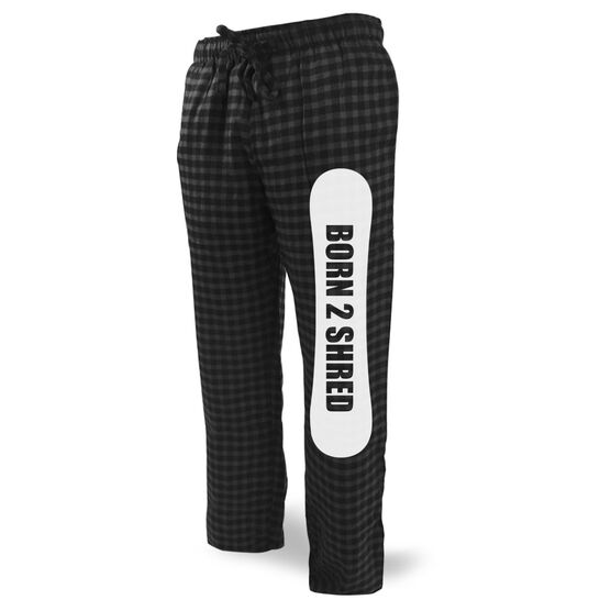 Snowboarding Lounge Pants Born 2 Shred