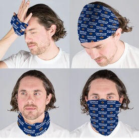 Football Multifunctional Headwear - Custom Team Name Repeat RokBAND