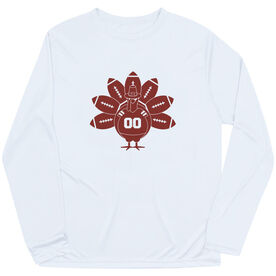 Football Long Sleeve Performance Tee - Turkey Player