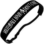 Volleyball Juliband No-Slip Headband - Volleyball Hair Don't Care
