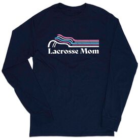 Lacrosse Tshirt Long Sleeve - Lacrosse Mom Sticks