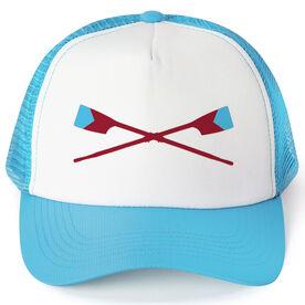 Crew Trucker Hat - Custom Oar Colors V Stripe