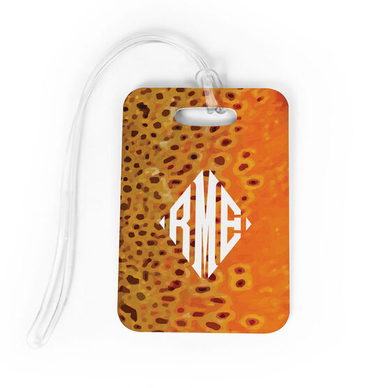 Fly Fishing Bag/Luggage Tag - Brown Trout