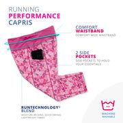 Running Performance Capris - Live Love Run