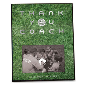 Golf Photo Frame Thank You Coach