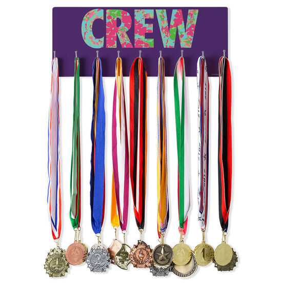 Crew Hooked on Medals Hanger - Floral