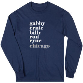 Baseball Long Sleeve Tee - FANtastic Chicago