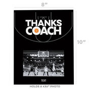 Basketball Photo Frame - Coach (Autograph)